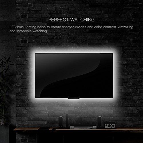 TV-LED-Light-Strip-Daylight-White-JACKYLED-USB- & TV LED Light Strip Daylight White JACKYLED USB Plug DC 5V 6.6ft ... azcodes.com