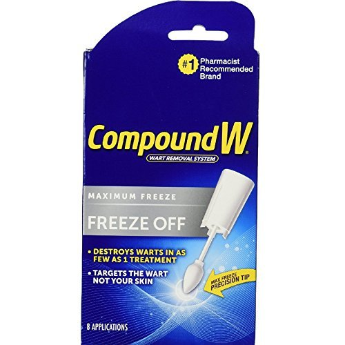 Compound Compound W Freeze Off Removal