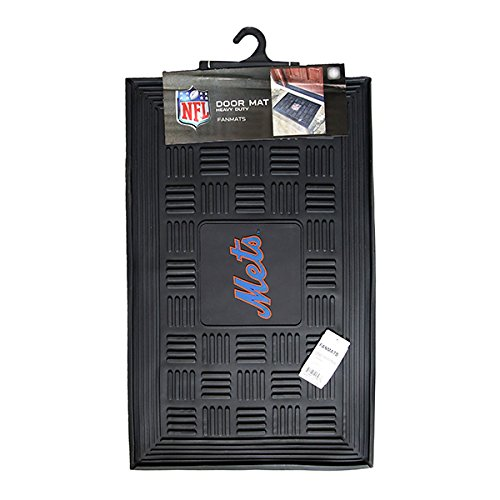 FANMATS MLB New York Mets Vinyl Door Mat (Rubber Floor Mat Mlb)