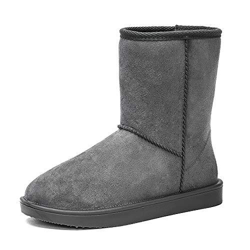 DKSUKO Women's Classic Waterproof Snow Boots Winter Boots (6 B(M) US, -