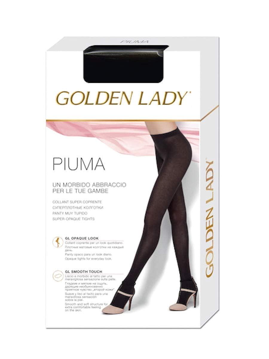 Glooke Selected COLLANT PIUMA GOLDEN LADY MADE IN ITALY DALLA TAGLIA 2^ ALLA 4^