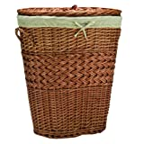 Redmon Large Oval Handcrafted Willow Hamper