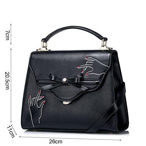 Paquete hombro New Bag Manera Tide Bow de Personalizada la Bolso Messenger de ZQ Bolsas 2018 Diagonal 5IxwqSZzp