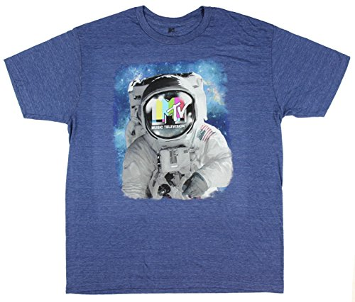 mtv-astronaut-spaceman-graphic-t-shirt-medium