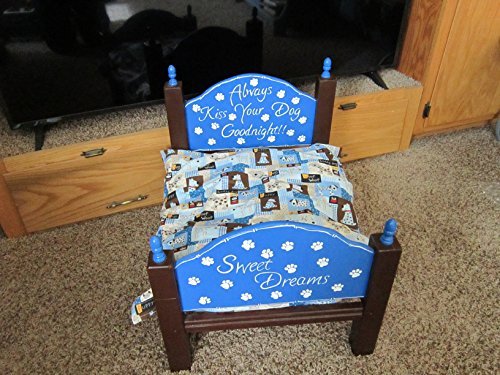 FREE SHIPPING!Only ships to the lower 48.Handmade, and Hand Painted Wood Pet Bed by Northwood Crafty Cabin