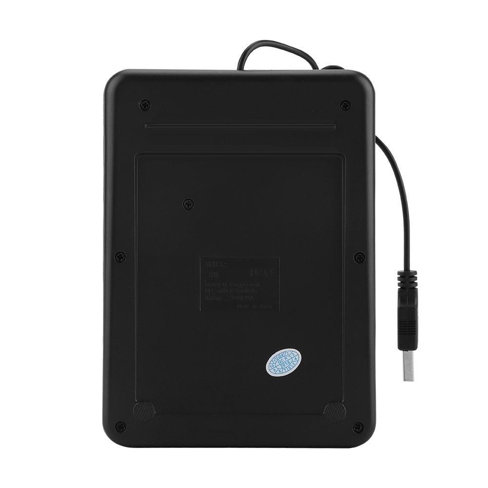 Eboxer 19 Teclas Mini Teclado Mum/érico USB Miles de N/úmeros R/ápidos Entrada C/ómoda,Teclado T/áctil USB para Ordenador Negro