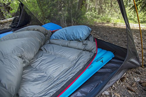 TETON SPORTS Altos Sleeping Pad; Lightweight Pad; Perfect for Camping, Backpacking, and Hiking; Rapid Inflation Valve Makes Inflating Quick and Easy; Comfortable and Compact; Storage Bag Included