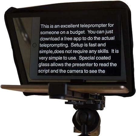 Kit Profesional de teleprompter de Estudio para Tableta ...
