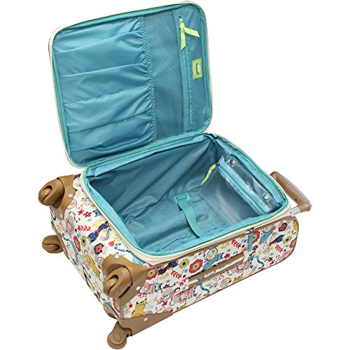 Lily Bloom Luggage 24'' Expandable Design Pattern Suitcase With Spinner Wheels For Woman (24in, Furry Friends) by Lily Bloom (Image #4)