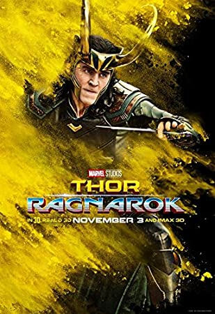 THOR RAGNAROK – Loki – US Movie Wall Poster Print – 30CM X 43CM Brand New