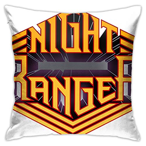 Atunme Cushion Covers Deocrative Pillow Covers for Couch Sofa Bench Night Ranger Play Special London Concert Pillowcase ()