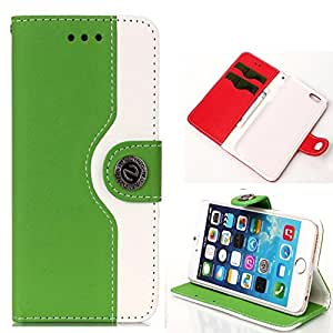 """iPhone 6 case, Carryberry iPhone 6 Plus"""" Wallet Case [Flip] -Ezydiigtal Leather Wallet Cover with [Card Slots] for iPhone 6 Plus Inch"""
