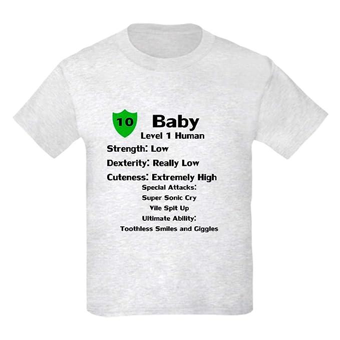 8d8ca379f Amazon.com: CafePress Level1human T Shirt Youth Kids Cotton T-Shirt ...