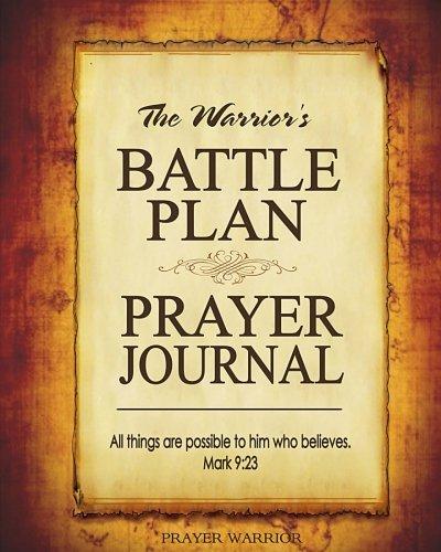 Battle Plan Prayer Journal