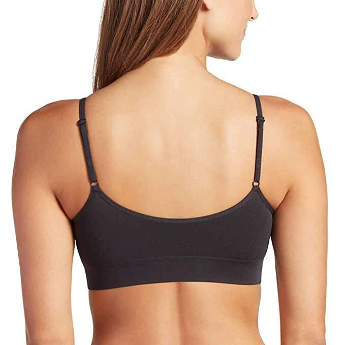 3425c8f052cf0 Jockey Women s Bras Modern Micro Seamfree Cami Strap Bralette - 2 Pack at  Amazon Women s Clothing store