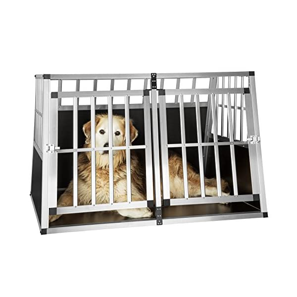 TecTake Dog cage trapezoidal - different models - 4