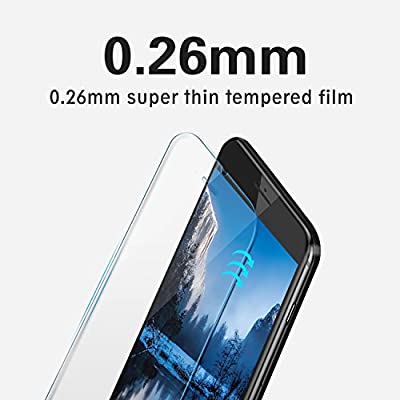Screen Protector Compatible with LG G6, 2 Pack UNEXTATI Ultra Thin Tempered Glass Screen Protector for LG G6, 9H Hardnes, Case Friendly: Baby