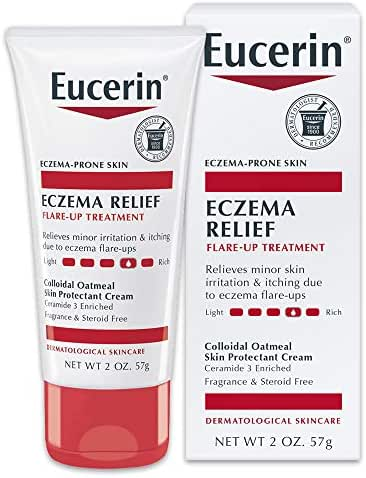 Body Lotions: Eucerin Eczema Relief Flare-Up Treatment Cream