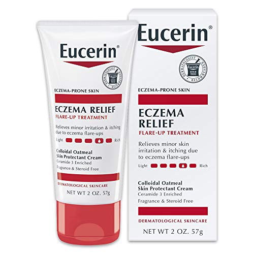 Eucerin Eczema Relief Flare-up Treatment - Provides Immediate Relief for Eczema-Prone Skin - 2 oz. Tube