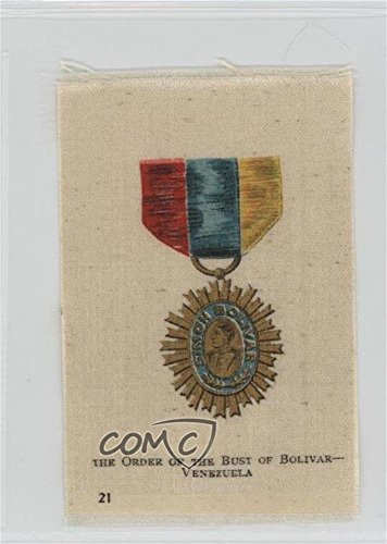 the-order-of-the-bust-of-bolivar-venezuela-comc-reviewed-good-to-vg-ex-trading-card-1912-s16-emblem-