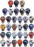 patriots football helmet for kids - Mix of 12 NFL Random Football Mini Buildables Figures 2.5 Inch - 12 Teams in Set - Kids Birthday Cake Toppers Boys Superbowl Helmet Party Favors Vending Machine Lot