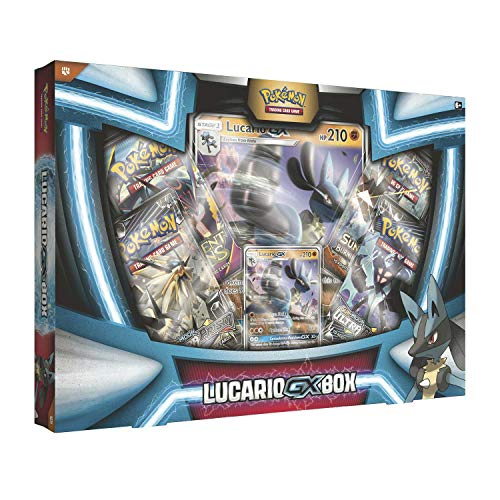 Pokemon TCG: Lucario Gx Box - 4 Booster Pack + A Foil Promo Card
