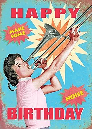 Happy Birthday Make Some Noise GrussKarte Durch Max Hernn
