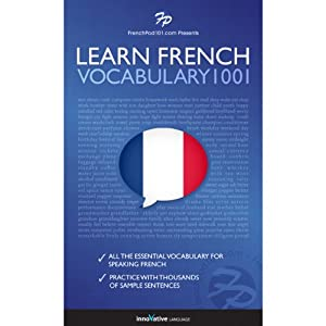 Learn French: Word Power 1001 Audiobook