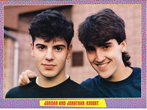 Jonathan & Jordan Knight - New Kids on The Block - NKOTB - 11