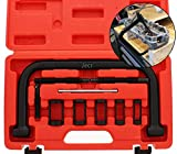 Valve Spring Compressor Tool – Compound Compression Lapping Kit for Auto - C Clamp Tool Repair Service Set – Removal / Installer for Engine - For Motorcycle, ATV, Car, Small Engine Vehicle Equipment