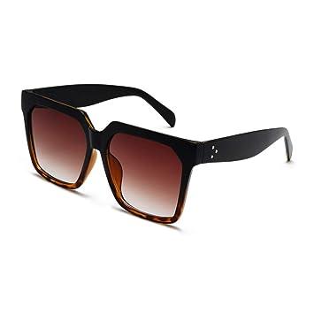 Yuanz Moda Gafas de Sol cuadradas Hombres diseño de Marca de ...