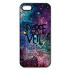 Pierce The Veil Lyric Quote Galaxy Image Protective iphone 6 plus 5.5 / iPhone 5 Case Cover Hard Plastic Case For iPhone 6 plus 5.5