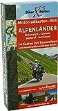 Motorradkarten Box Alpenländer