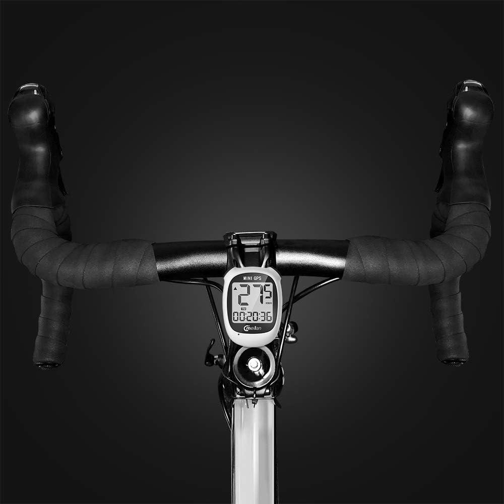 1pc Waterproof Bike Bicycle Computer GPS Wireless Speedometer Odometer USB Mini