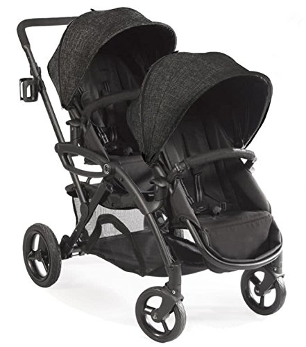 Contours Options Elite Twin Tandem Double Baby Stroller Carb
