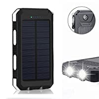 Solar Charger,Solar Power Bank 20000mAh ...