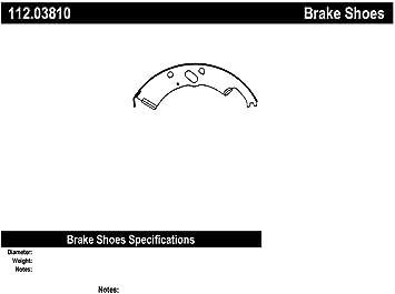 Drum Brake Shoe-Heavy Duty Brake Shoes-Preferred Rear Centric 112.03810