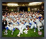 "Los Angeles Dodgers 2018 NLCS Team Celebration Photo (Size: 12"" x 15"") Framed"