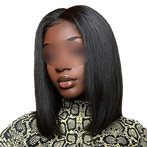 betterluse Short Lace Front Human Hair Wigs Bob