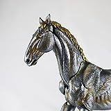 Kaiyodo Takeya Shiki Jizai Okimono KT-007: Horse (Iron Version) Figure