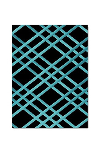 """Bulletin-Memo Board and Picture Frame: Black and Teal (Medium (18"""" x 24""""))"""