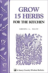 Image of the product Grow 15 Herbs for the that is listed on the catalogue brand of Storey Publishing, LLC.