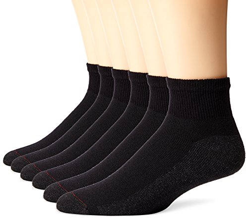 Hanes Men's 6 Pack Ankle Sock,