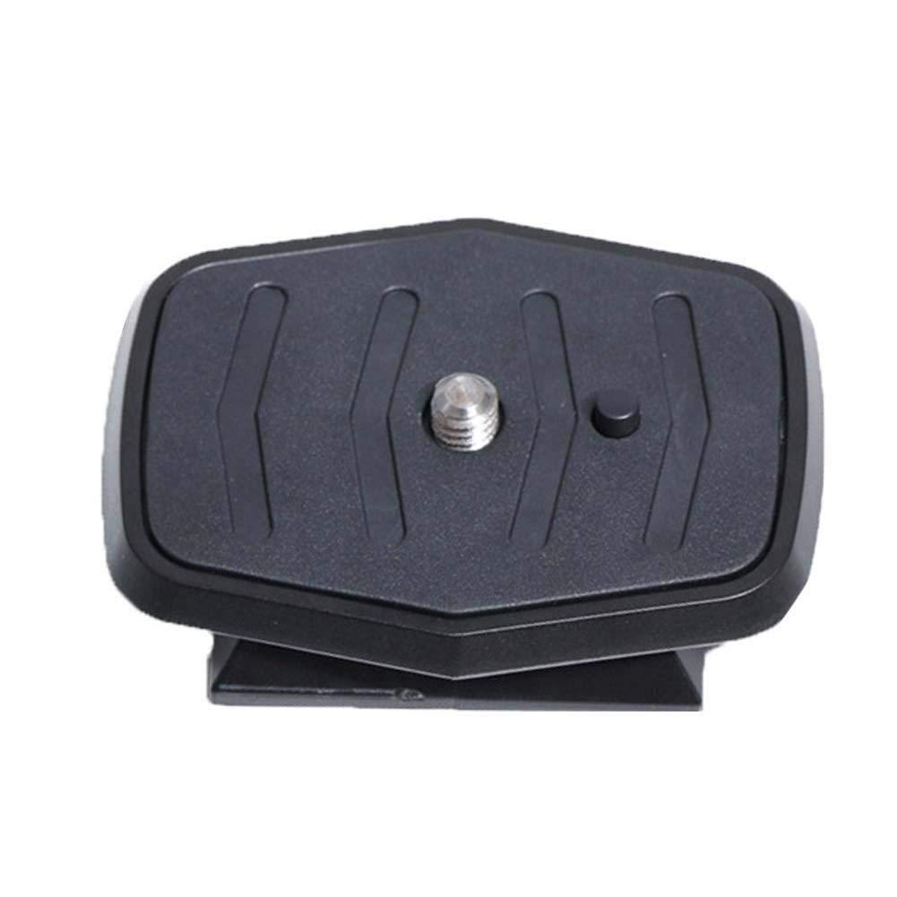 Niulyled treppiede Piastra –  Universale treppiede Piastra Rapida 600 668 800 690 rapido Caricamento Board SLR treppiede Testa