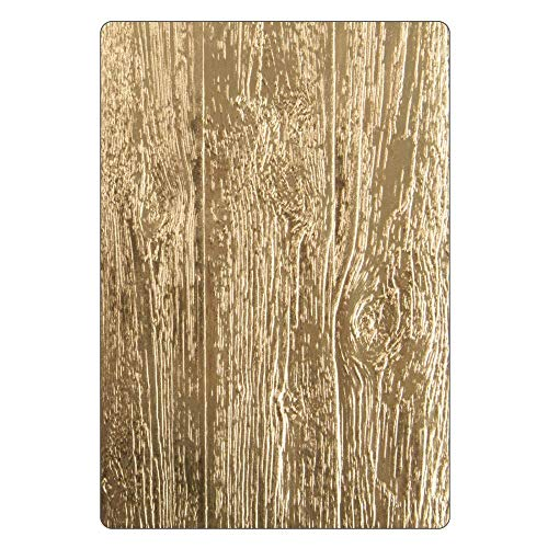 Sizzix 3-D Embossing 662718, Tim Holtz, One Size, Lumber Folder