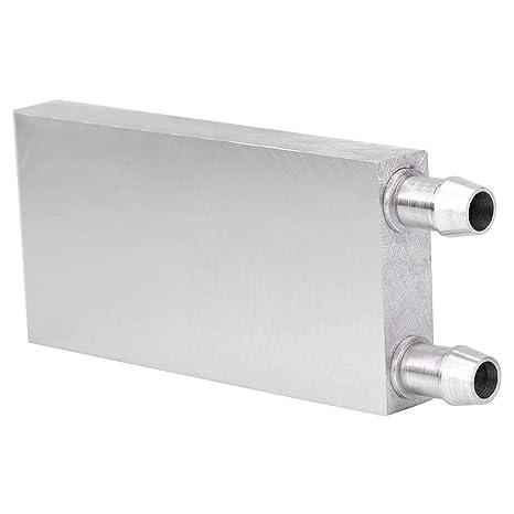 Eboxer Aluminio CPU Enfriador de Refrigeración por Agua Bloque Agua Líquido Disipador de Calor del Refrigerador