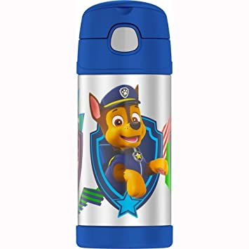 Thermos Paw Patrol Funtainer Sports Bottle with Straw Blue ...