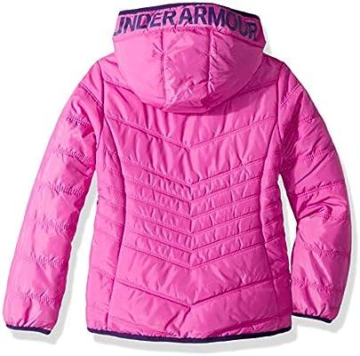 7931d3d7c Under Armour Girls' Big' ColdGear Prime Puffer Jacket, Flour Fuchsia ...