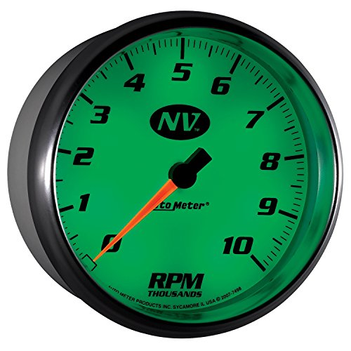 "Mark Automotive Auto Meter 7498 NV 5"" 10000 RPM In-Dash T..."