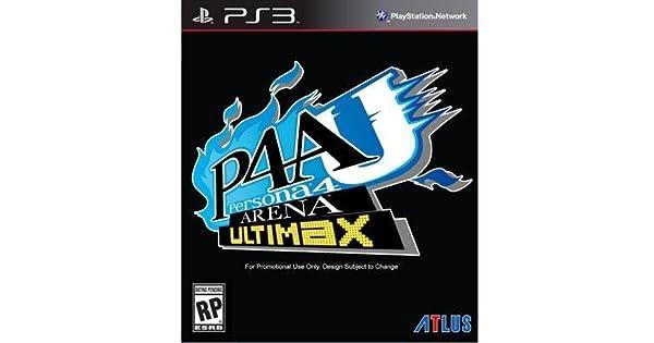 Amazon com: Persona 4 Arena Ultimax Ps3: Video Games